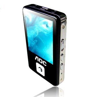 AOC V200, el MP3 delgado