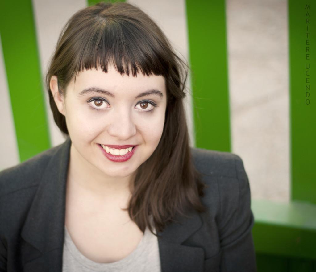 La escritora María Zaragoza.