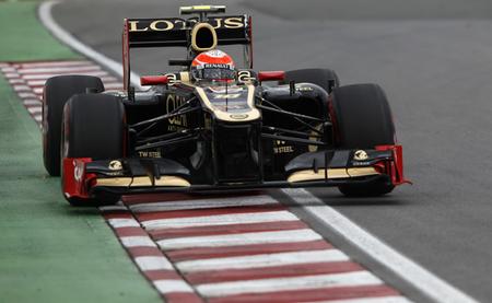 Romain Grosjean Canadá 2012