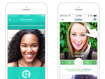 """""""Selfie"""", el servicio que quiere que nos comuniquemos por medio de selfies"""