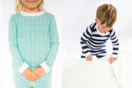La genial invención de un padre: pijamas absorbentes, para niños que mojan la cama