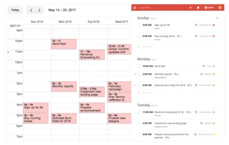 Todoist y Google Calendar se integran: sincronización en tiempo real entre tus tareas y calendario