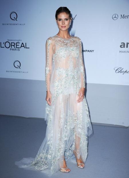 Heidi Klum amFAR 2012 Cannes