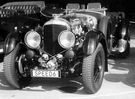 Bentley 6½ Litre Tourer