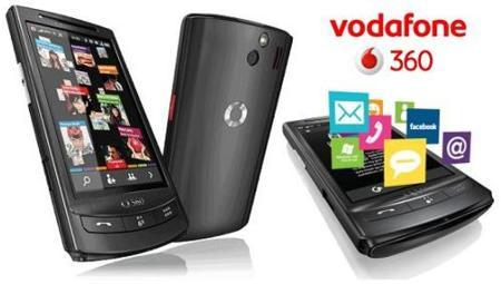 Experiencia Vodafone 360 completa en los H1, M1 y ahora también en móviles Symbian