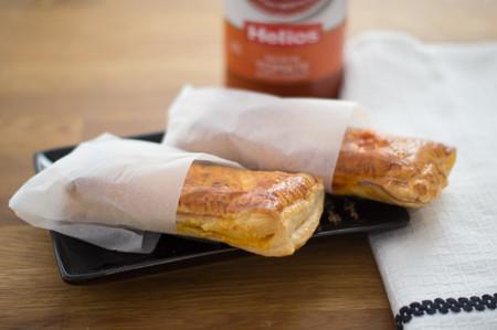 Receta de aperitivo: pocket pies salados