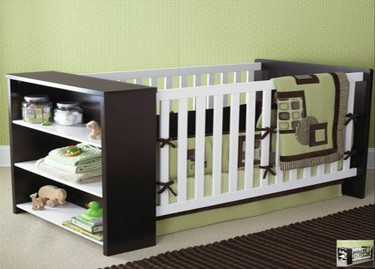 Modern Crib de Sweet Pea