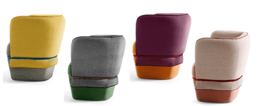 ¿Gusto por el diseño y poco espacio? Chemise y Halfie serán tus muebles preferidos