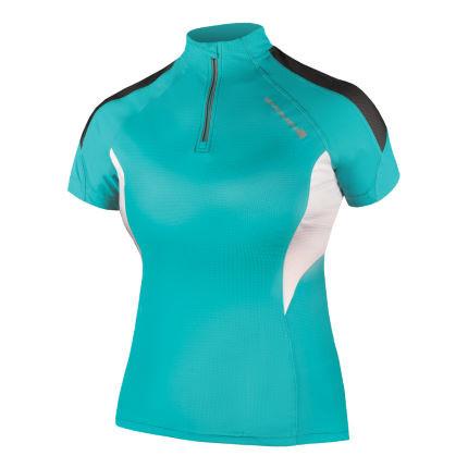Endura Women S Hummvee Lite Jersey Short Sleeve Jerseys Teal Ss16 E6062tl 2