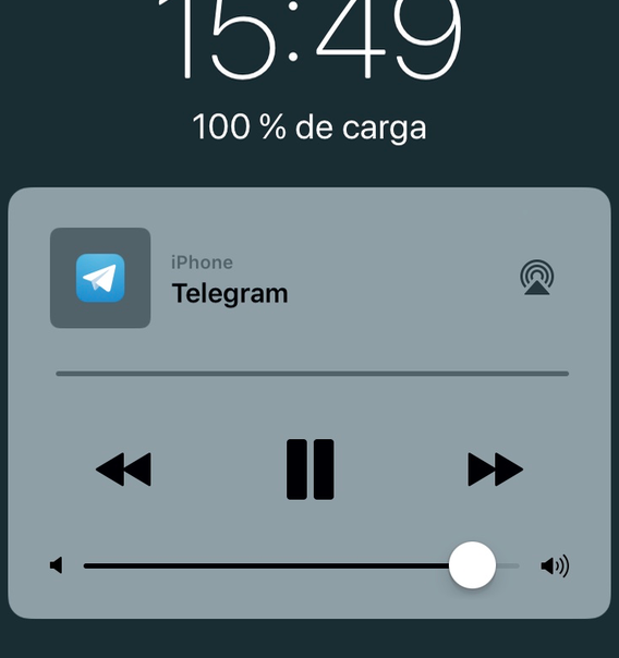 Telegram Musica Bloqueo