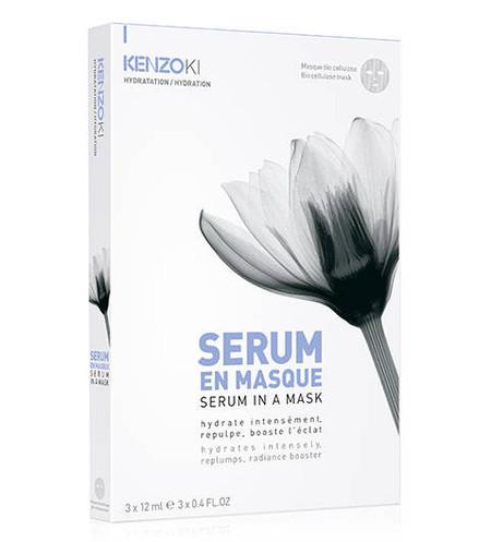 Kenzoki Serum In A Mask