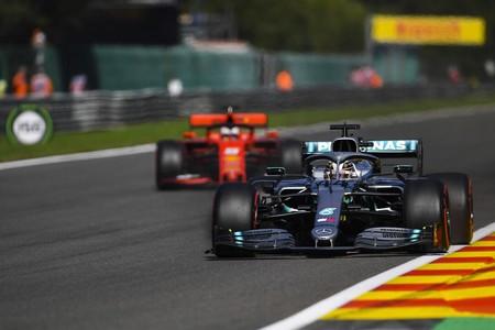 Hamilton Vettel Spa F1 2019
