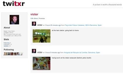 Twitxr: microblogging geolocalizado a través de fotografías