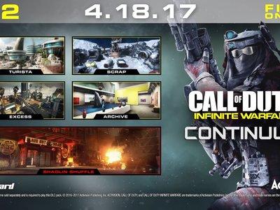 Continuum es el segundo DLC de Call of Duty: Infinite Warfare y llegará primero a PS4 el 18 de abril