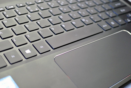Acer Spin 7: Teclado y Touchpad