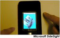 Microsoft SideSight: interfaz multipunto más allá de la pantalla