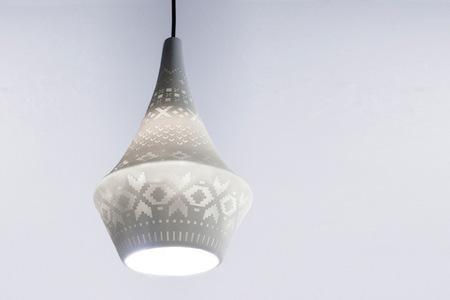 Una bella lámpara que imita a los jerséis de lana