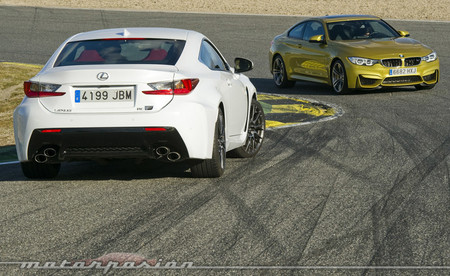 BMW M4 vs Lexus RC F Motorpasion 23 1000