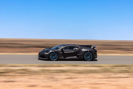 Bugatti Divo Prototype Testing 1