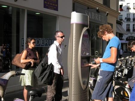 Bici compartida en París