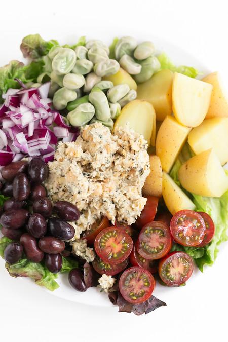 Ensalada Nicoise Vegana 3