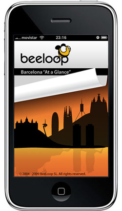 "Barcelona ""At a Glance"": guía gratis para iPod y iPhone"