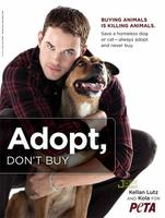 Kellan Lutz te propone adoptar un perro