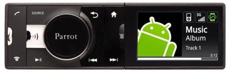 Parrot pone un Android en tu coche y crea el auto-radio total