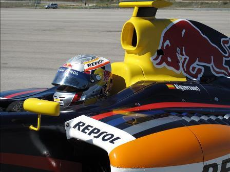 Jaime Alguersuari rechazó ser piloto reserva de Red Bull