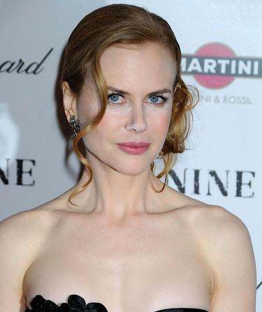 Nicole Kidman y su cristo de maquillaje