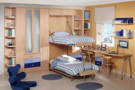 Una soluci n diferente para cada dormitorio juvenil for Habitaciones juveniles para poco espacio