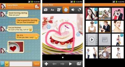 ChatON, el cliente de mensajería de Samsung, llega a Android