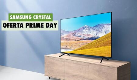 Este Smart TV de Samsung con pantalla 4K de 50 pulgadas se controla con la voz y te lo puedes llevar por menos de 400 euros durante el Prime Day