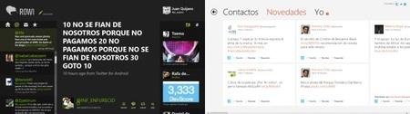 Clientes Twiter MetroStyle