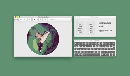 'Hummingbird' propone una nueva manera de posicionar y cambiar el tamaño de las ventanas en macOS