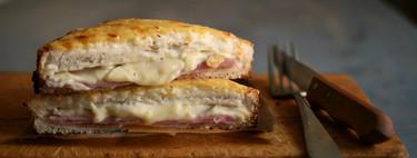 Vídeo receta de croque-monsieur, el sándwich francés que ha conquistado al mundo entero