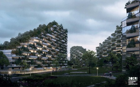 Stefano Boeri Architetti Liuzhou Forest City Human View