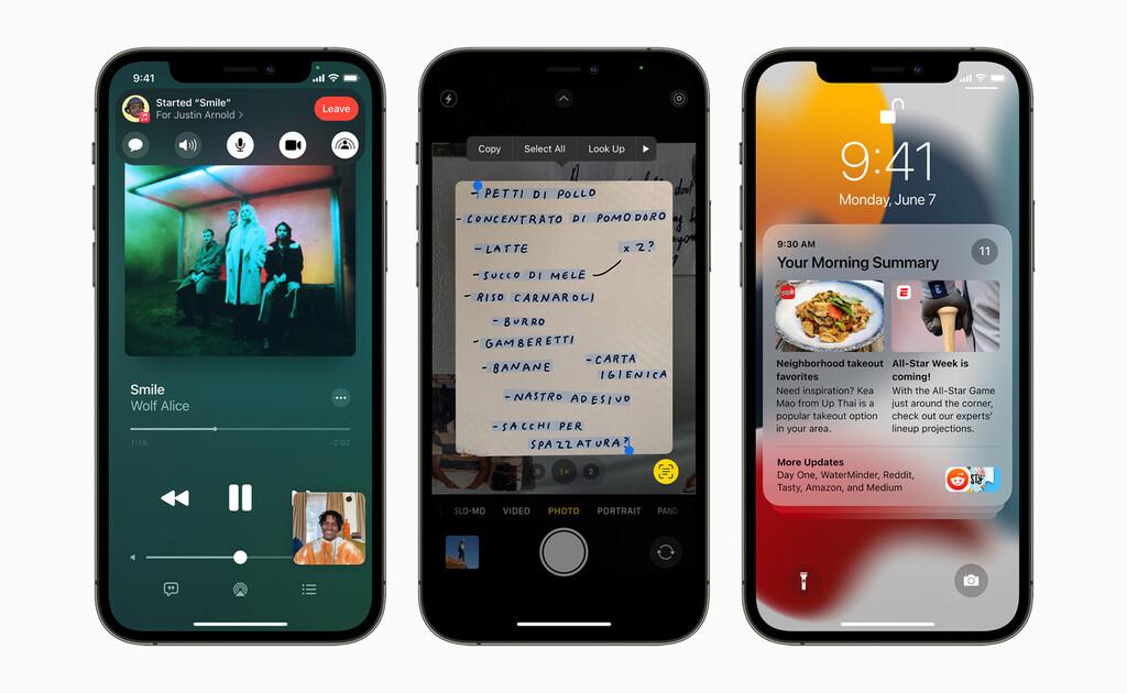 Apple lanza (otra vez) la beta 2 de iOS 15 y las betas públicas de todos los sistemas presentados en la WWDC21