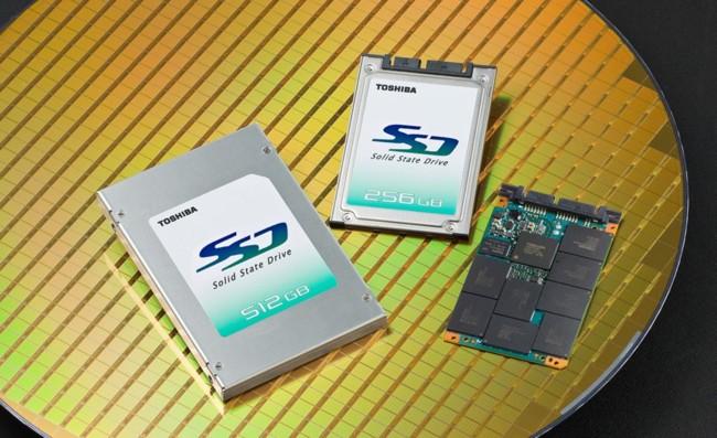 Las unidades SSD de 128 TB llegarán en 2018 de la mano de Toshiba