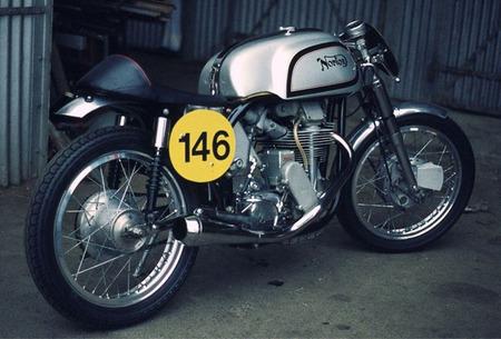Norton Manx M30, el monocilíndrico que ganó el Mundial de 500cc
