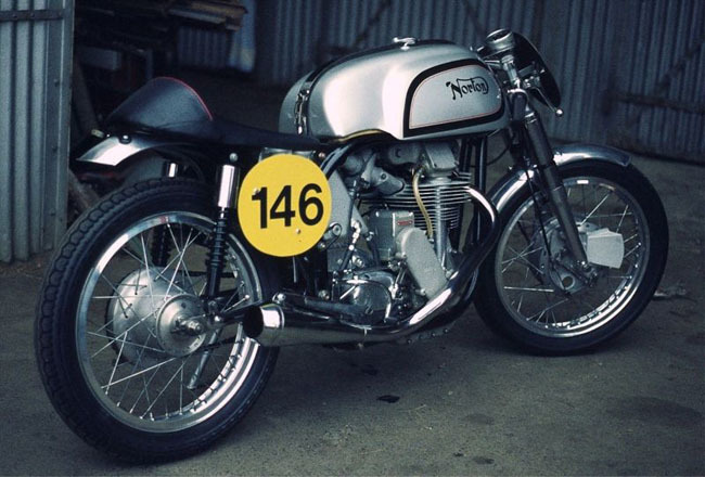Norton Manx de 1954