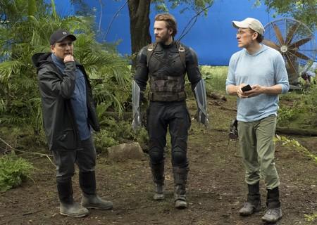 Anthony y Joe Russo en el rodaje de Vengadores: Infinity War