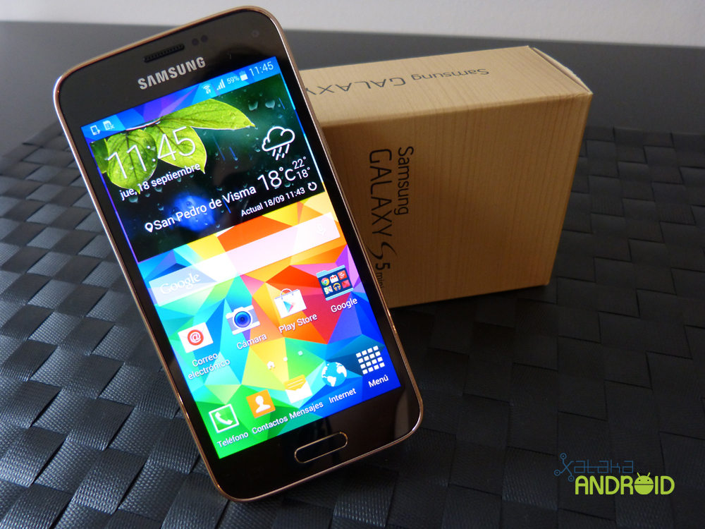Foto de Samsung Galaxy S5 mini, diseño (5/19)