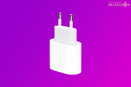 """Carga tu iPhone y iPad a la """"velocidad del rayo"""" con el adaptador USB-C de 20 W oficial de Apple, por 19,99 euros en Amazon"""