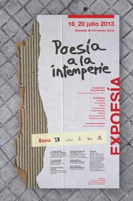 Se celebra la sexta edición de Expoesía de Soria llamada Poesía a la intemperie