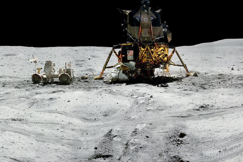 La NASA libera una increíble colección de fotos del aterrizaje del Apolo, y puedes descargarlas bajo licencias abiertas