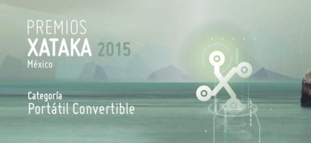Mejor portátil convertible, vota por tu preferido para los Premios Xataka México 2015