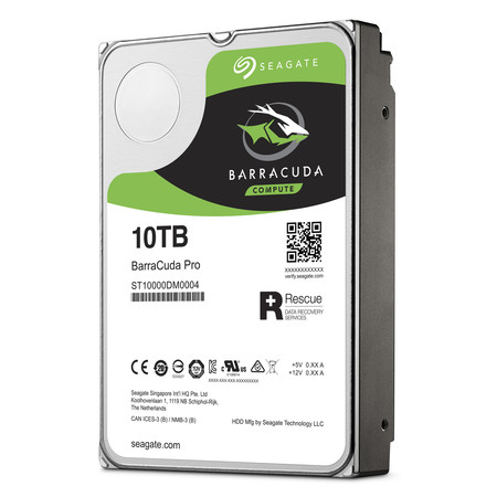 BarraCuda Pro 10TB, el HDD de mayor capacidad que le puedes montar a tu PC ya se puede comprar en México