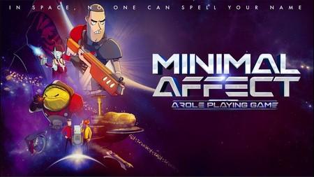 Minimal Affect es un juego que parodia claramente a Mass Effect, pero quiere que nos lo tomemos en serio como RPG de acción