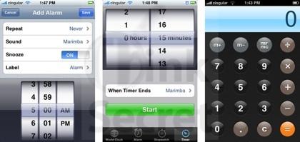 ThinkSecret publica la primera galería de imágenes de la interfaz del iPhone